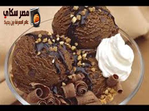 بالصور خطوات عمل الآيس كريم بالنسكافية ice cream
