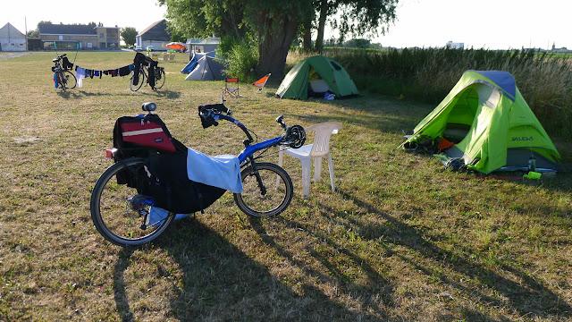 Tour de la Belgique en vélo, Camping Dixmude
