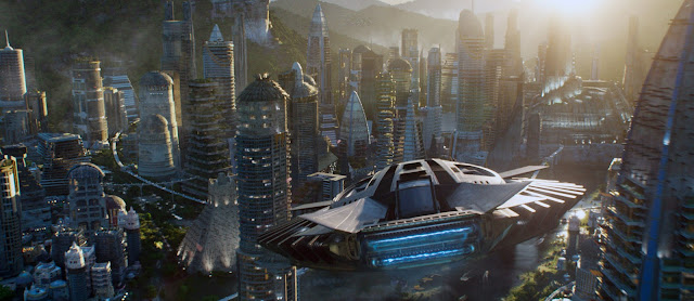 Image from the Black Panther 2018 Film
