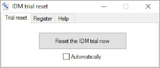 طريقة استعمال Internet Download Manger بفترة تجريبية غير محدودة