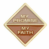 My Promise, My Faith pin