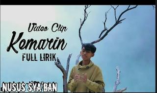 """Lirik Lagu COVER """" KEMARIN """" SEVENTEEN Oleh Nurus Sya'ban Syubbanul Muslimin"""