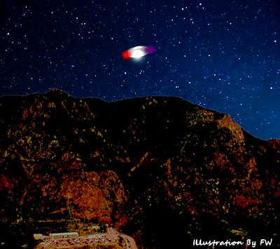 UFO Heading Toward NORAD