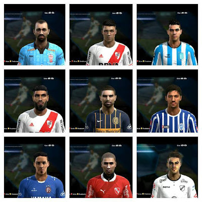 PES 2013 Facepack Argentino V6 by Facemaker LER