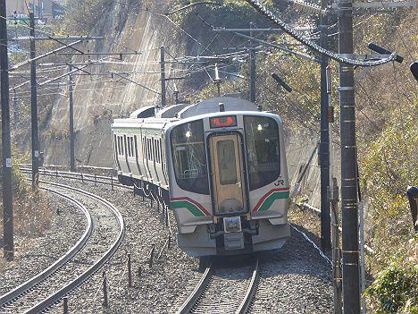 東北本線 普通 松島行き E721系