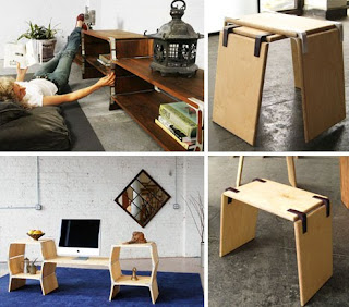 objetos y muebles de madera bastante creativos-objects and furniture quite creative