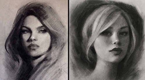00-Gabrielle-Brickey-Strength-and-Purpose-through Charcoal-Portraits-www-designstack-co