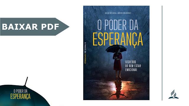 Livro poder da esperanca 2018