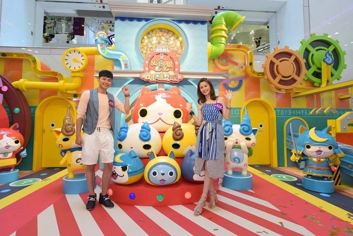 Yo-kai Watch and Puni Puni Exhibition at Windsor House