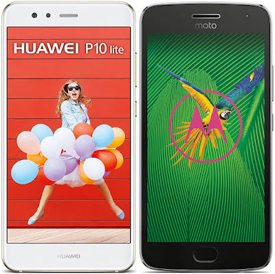 Huawei P10 Lite vs Motorola Moto G5 Plus
