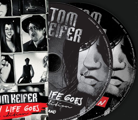 TOM KEIFER (Cinderella) - The Way Life Goes [Deluxe Edition] (2017) disc