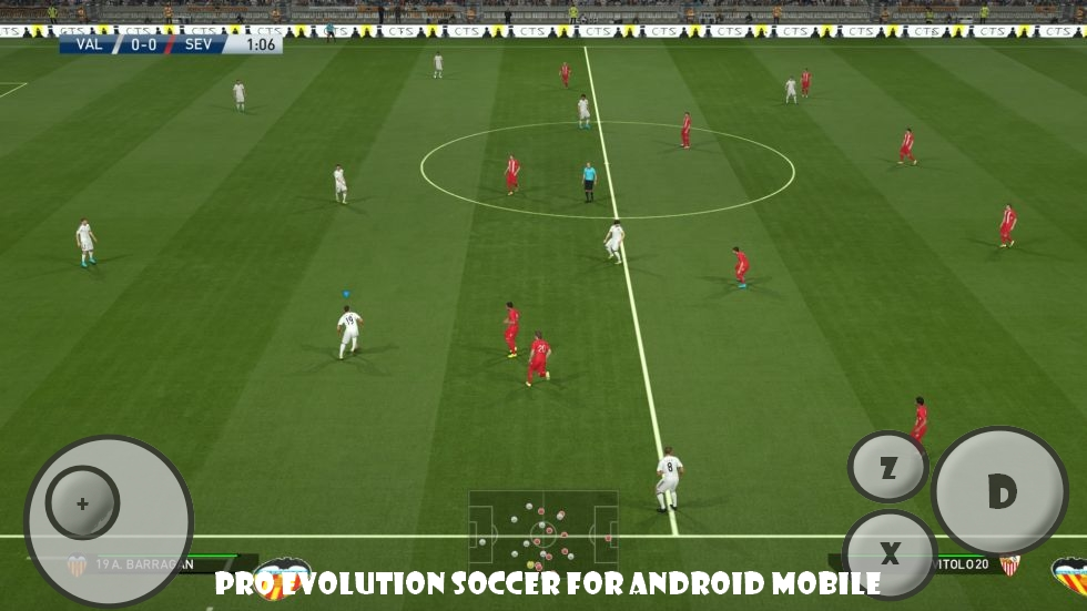 Pro Evolution Soccer 2016 For Android mobile | PES 2016 FOR ADNROID