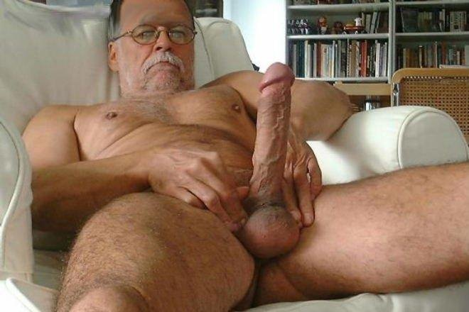 cock Old mans