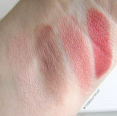 gabriel cosmetics swatches - the beauty puff