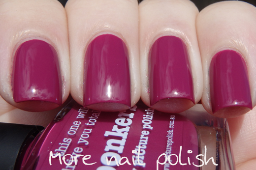 Picture Polish Colour Guide More Nail