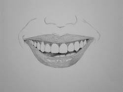 mouth draw human tutorial teeth lips step drawing shade pencil tutorials gums