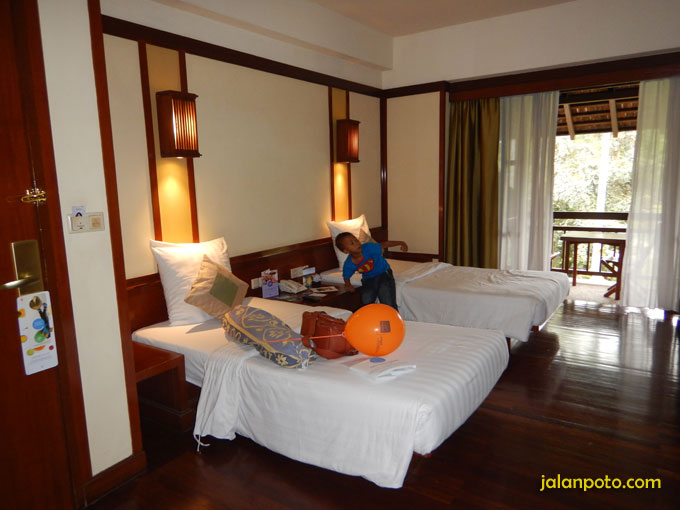 Kamar hotel Novotel Bogor