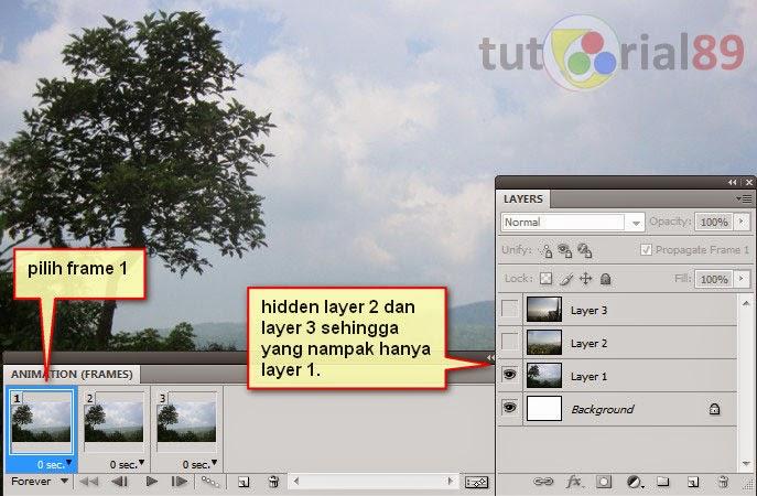 Cara mudah membuat slideshow foto dengan photoshop