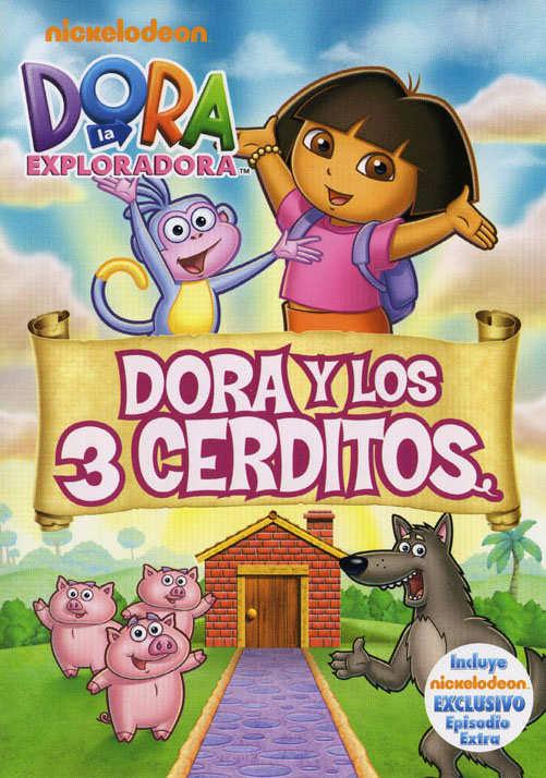 Ver Dora La Exploradora y Los Tres Cerditos (2011) Online