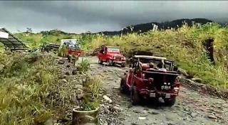 Paket Wisata Jeep Lava Tour Merapi