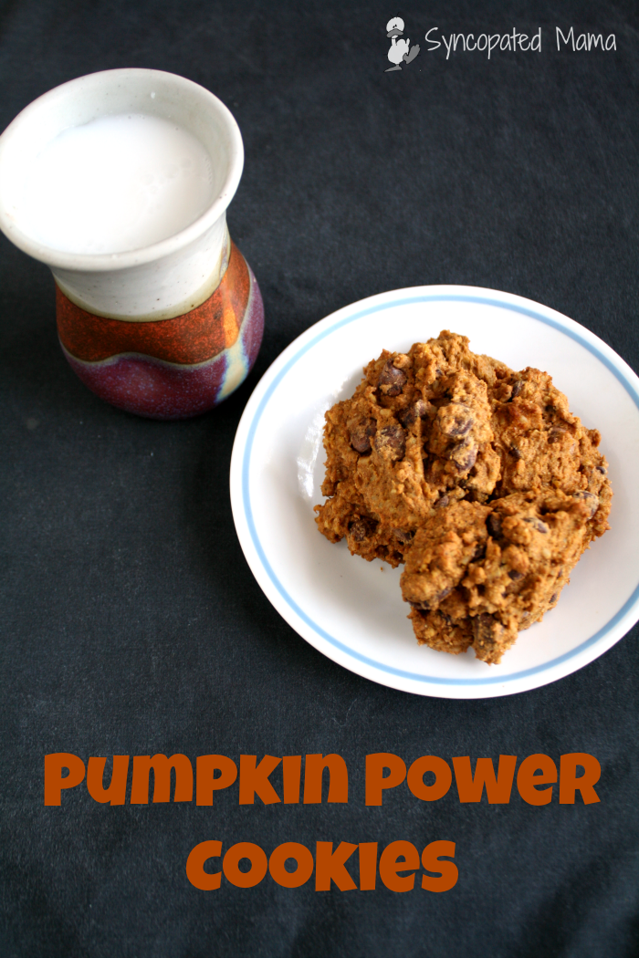 Syncopated Mama: Pumpkin Power Cookies