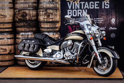"Servicemen And Women Get ""Gift Of Home"" From Limited Edition Jack Daniel's Indian Chief Vintage Motorcycle To Be Auctioned"