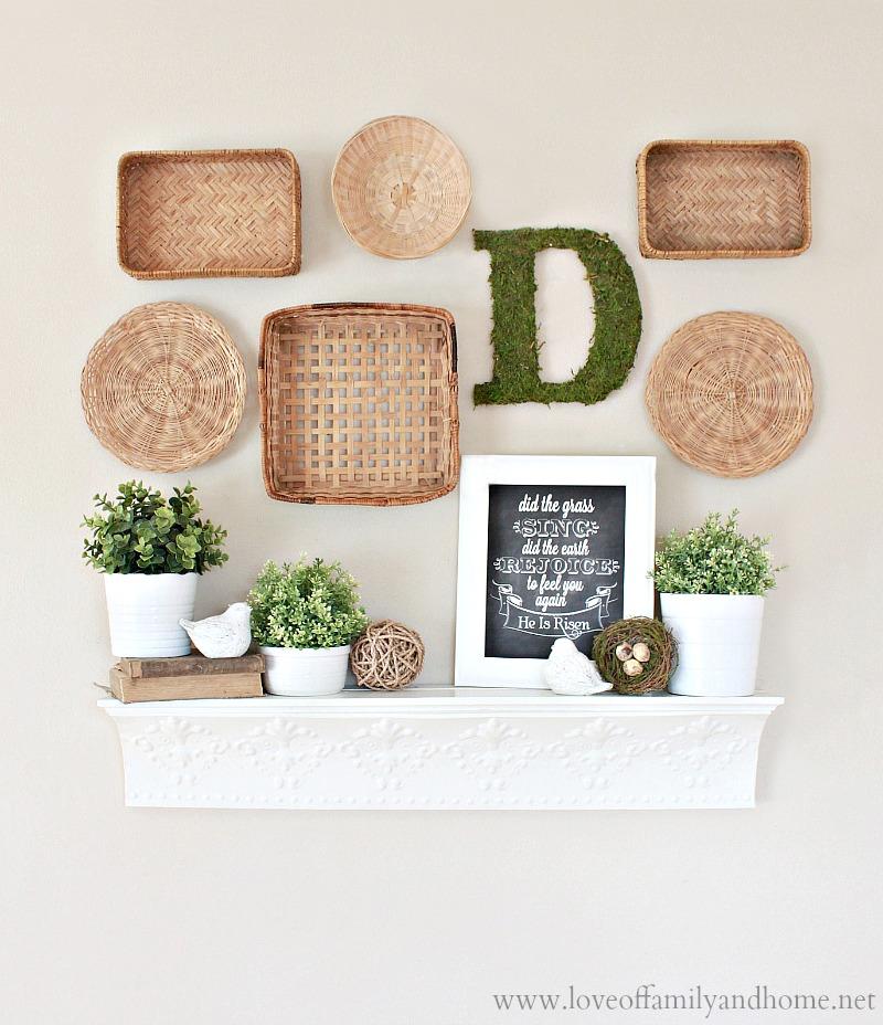 Spring Home Decor Design Ideas: Love Of Family & Home
