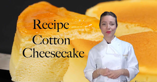 COTTON CHEESECAKE RECIPE - RICETTA CHEESECAKE GIAPPONESE