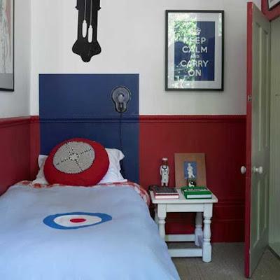 Desain Interior Kamar Tidur Remaja Laki-laki