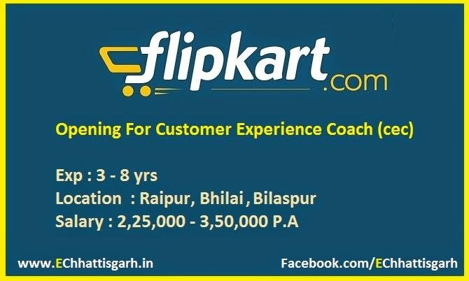 Vacancy For Customer Experience Coach (cec) in Flipkart by www.EChhattisgarh.in