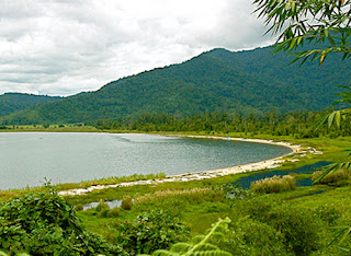 Lake Poso in Sulawesi Indonesia is 500 meters deep