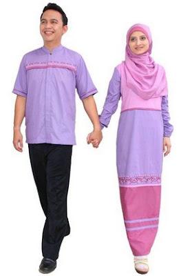 Model Baju Muslim Couple Merek Zoya (Gamis dan KoKo) Terbaru