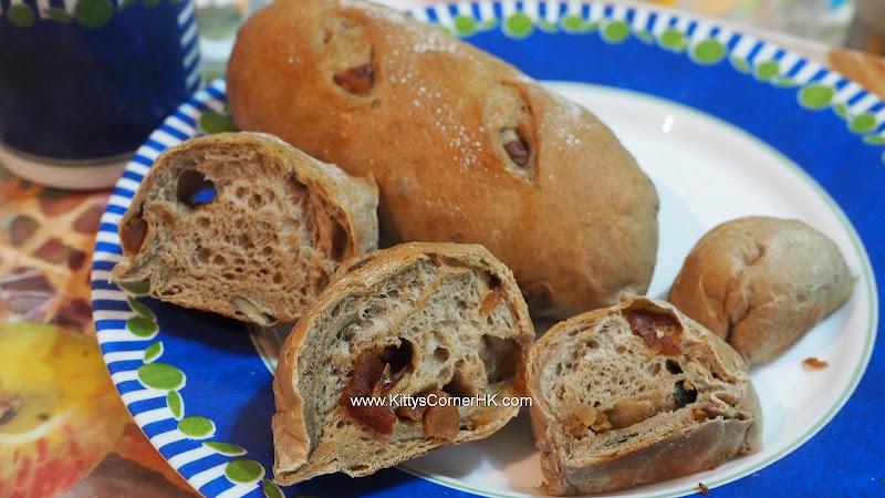 Longan Pumpkin Seeds Bread DIY recipe 龍眼南瓜子麵包 自家烘焙食譜