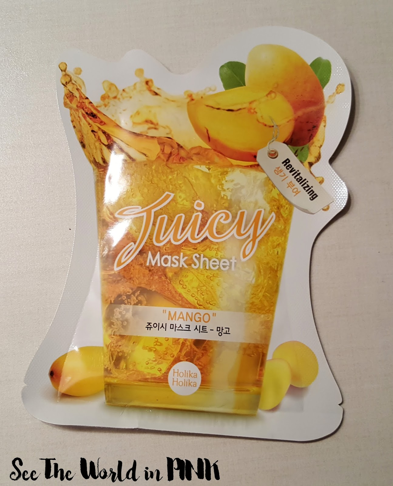 "Holika Holika Juicy Mask Sheet ""Mango"""