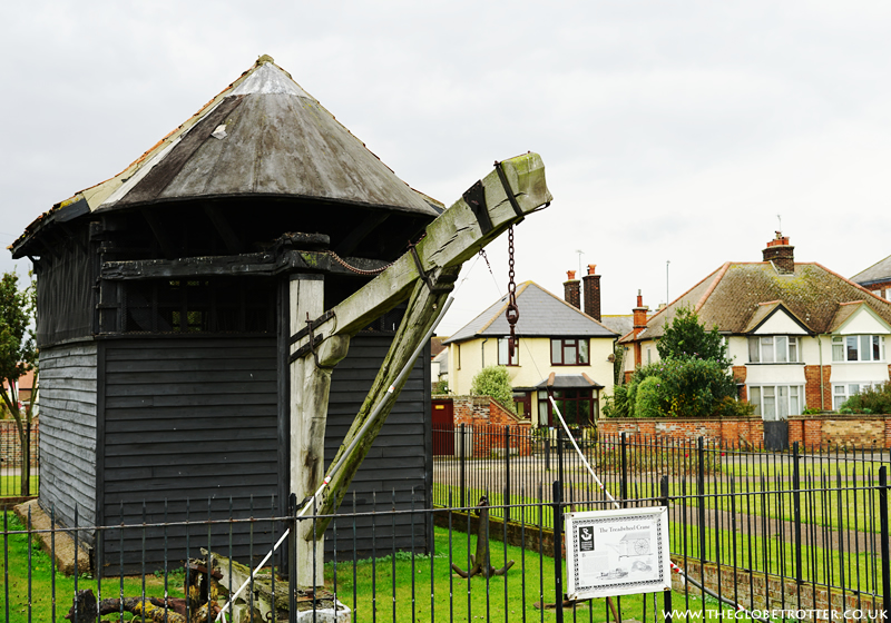 Treadwheel Crane in Harwich