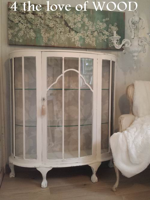 This piece was passed on to me from someone who knows what. I do. I was  super excited the day. I loaded this cabinet into my truck. I have always  wanted to - 4 The Love Of Wood: ANTIQUE SHOE CABINET - Curved Glass