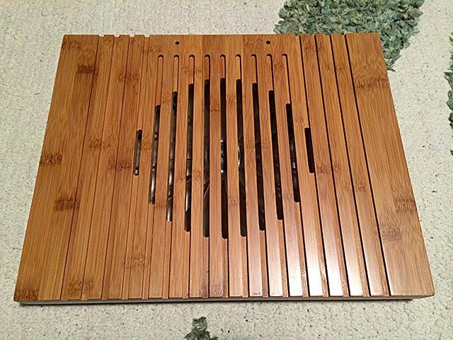 竹製ノートPCスタンド