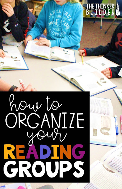 Organize your small groups and set up a schedule that actually works! Especially helpful if you have guided reading groups. Tons of examples and all the forms are free, too! (Blog Post from The Thinker Builder)