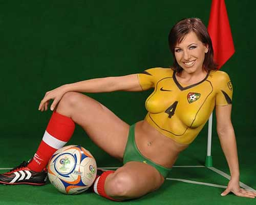 World cup 2006 body painting