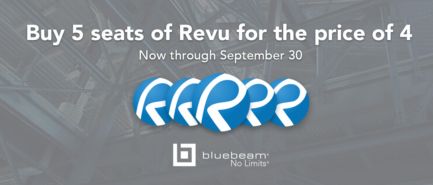 Bluebeam Revu Offer