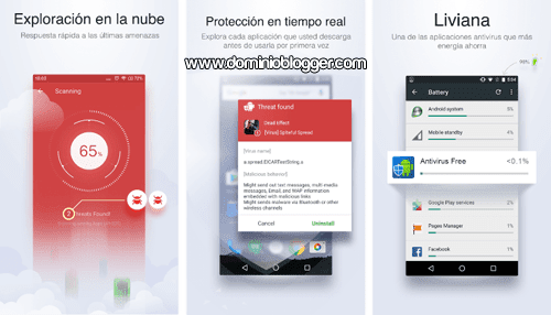 Protege tu telefono con Antivirus Free Mobile Security