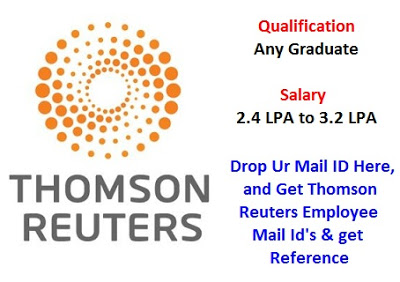 Thomson Reuter (Apply through Naukri)