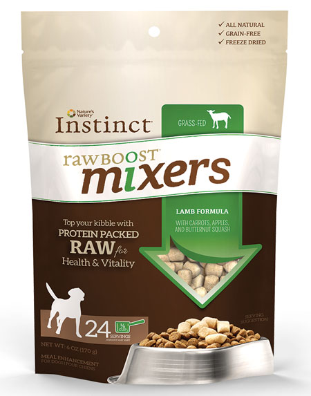 Nature S Variety Instinct Raw Boost Mixers Review