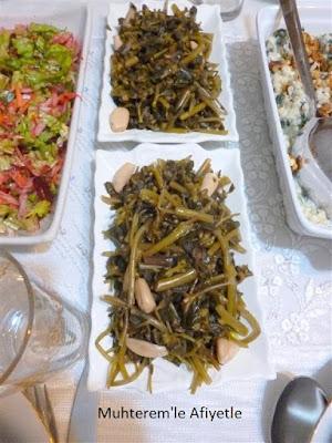 akşam yemeği masası