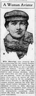 Mujer piloto pionera - Marie Marvingt