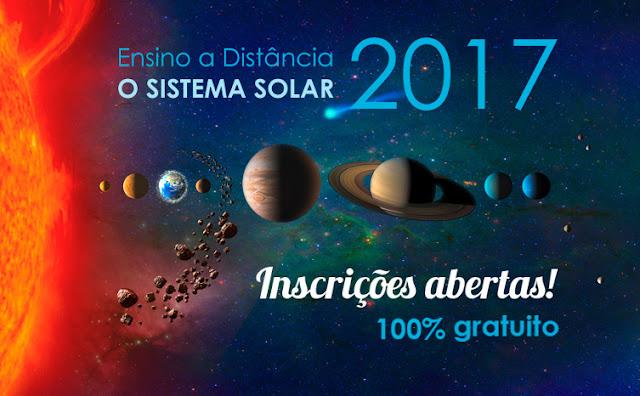Curso de astronomia a distancia - online - 2017