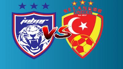 Live Streaming JDT II vs Selangor United Liga Premier 26.4.2019