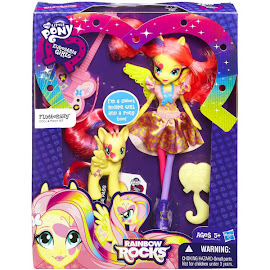 MLP Doll and Pony Set Fluttershy Brushable Pony
