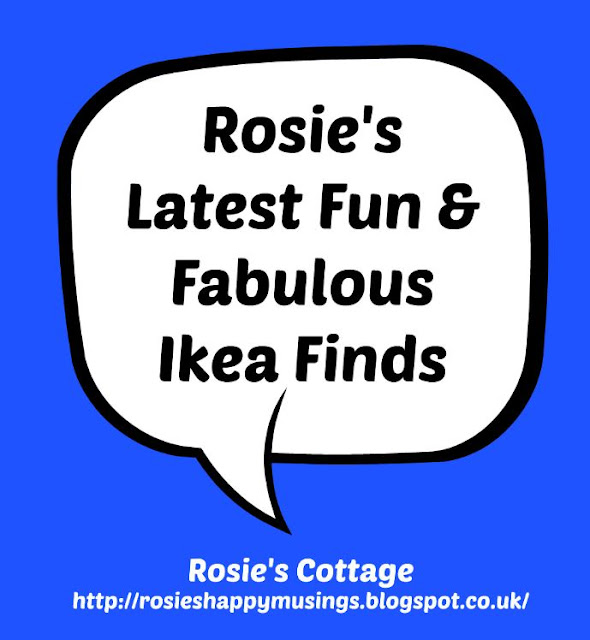Rosies's latest fun & fabulous Ikea finds