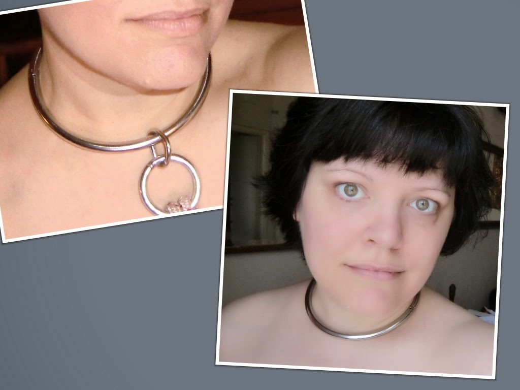 Michelle Fegatofi's First and Second Gorean Eternity Collar